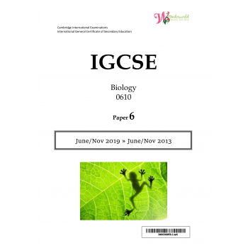 IGCSE Biology 0610 | Paper 6 | Question Papers