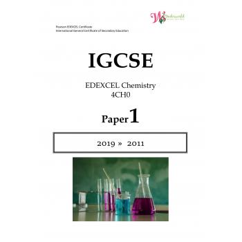 IGCSE Edexcel Chemistry 4CH0 | Paper 1 | Question Papers