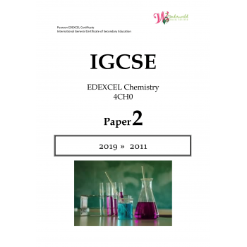 IGCSE Edexcel Chemistry 4CH0 | Paper 2 | Question Papers
