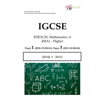 IGCSE Edexcel Mathematics A 4MA1 | Paper 1| Question Papers