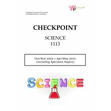 Lower Secondary Checkpoint Science 1113 | Question & Marking Scheme