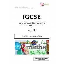 IGCSE International Mathematics 0607   Paper 2   Question Papers
