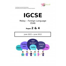 IGCSE Malay - Foreign Language 0546 | Paper 2 & 4 | Question Papers
