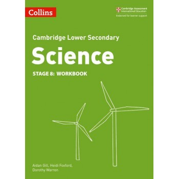 Collins Cambridge Lower Secondary Science | Workbook Stage 8