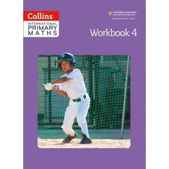 Collins International Primary Maths  | Workbook 4