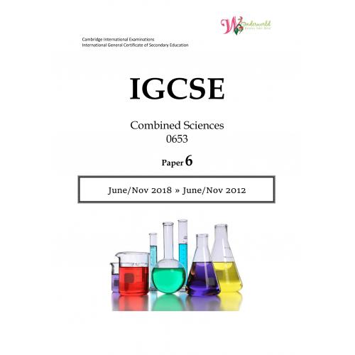 IGCSE Combined Sciences   Paper 6   Question Paper