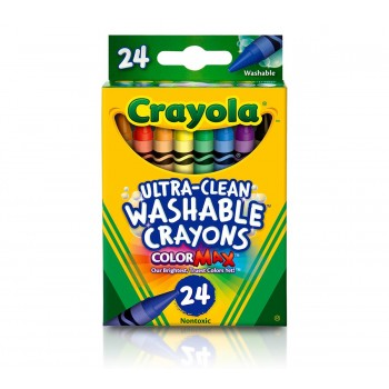Crayola Ultra-Clean Washable Crayons 24