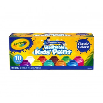 Crayola Washable Kids' Paint 10