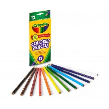 Crayola Colored Pencils, Long 12