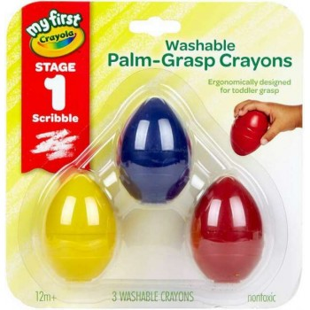 Crayola My First Palm Grip Crayons