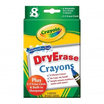 Crayola Dry-Erase Crayons 8