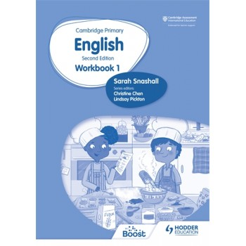 Hodder Cambridge Primary English Workbook 1 Second Edition