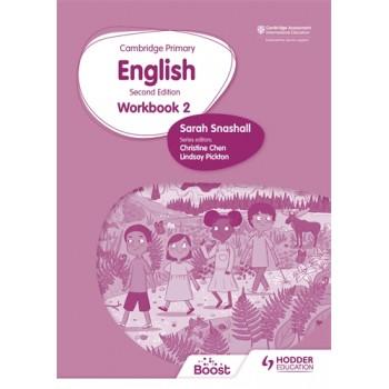 Hodder Cambridge Primary English Workbook 2 Second Edition