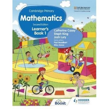Hodder Cambridge Primary Mathematics Learner's 1 Second Edition