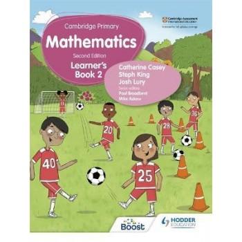 Hodder Cambridge Primary Mathematics Learner's 2 Second Edition
