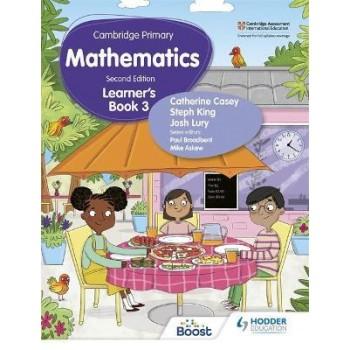 Hodder Cambridge Primary Mathematics Learner's 3 Second Edition