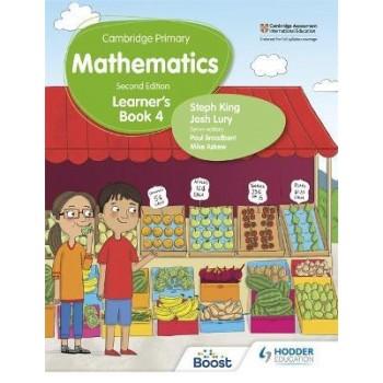 Hodder Cambridge Primary Mathematics Learner's 4 Second Edition