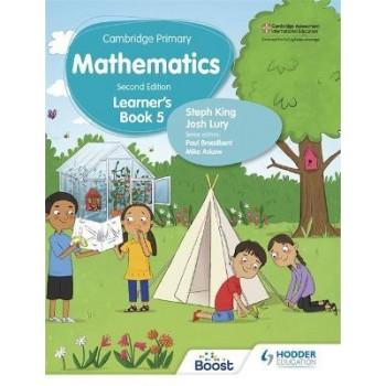 Hodder Cambridge Primary Mathematics Learner's 5 Second Edition