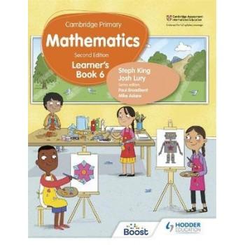 Hodder Cambridge Primary Mathematics Learner's 6 Second Edition