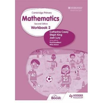 Hodder Cambridge Primary Mathematics Workbook 2 Second Edition