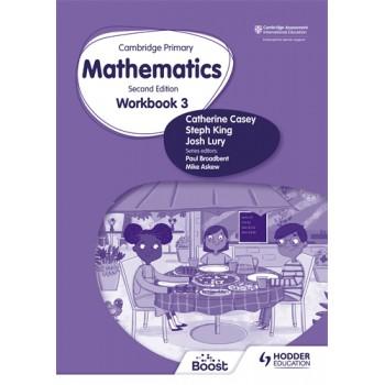 Hodder Cambridge Primary Mathematics Workbook 3 Second Edition