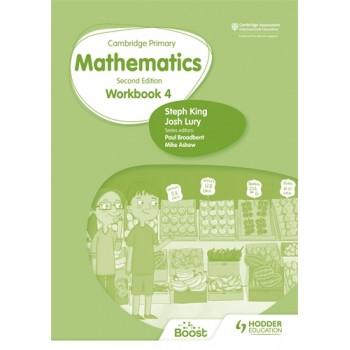 Hodder Cambridge Primary Mathematics Workbook 4 Second Edition
