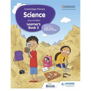 Hodder Cambridge Primary Science Learner's 3 Second Edition