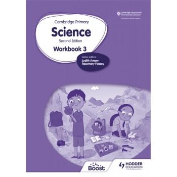 Hodder Cambridge Primary Science Workbook 3 Second Edition