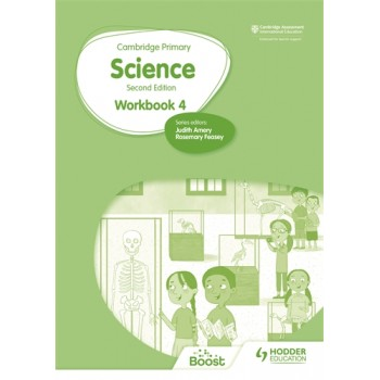 Hodder Cambridge Primary Science Workbook 4 Second Edition