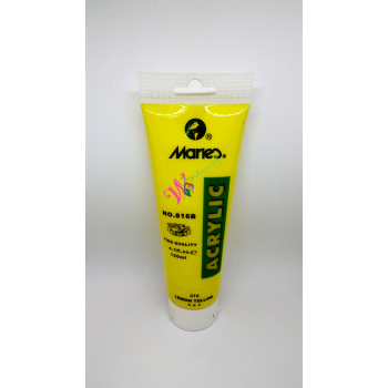 Marie's 816B Single Acrylic Colour | Colour # 215 Lemon Yellow