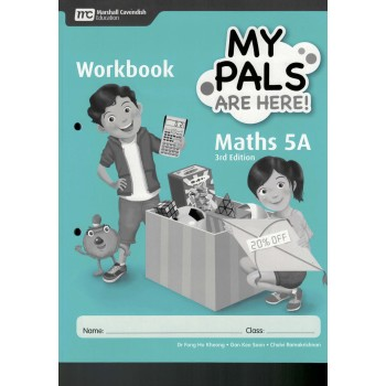 Marshall Cavendish | My Pals are Here! Maths Workbook 5A (3rd Edition)