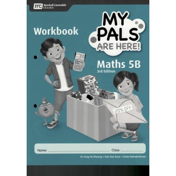 Marshall Cavendish | My Pals are Here! Maths Workbook 5B (3rd Edition)