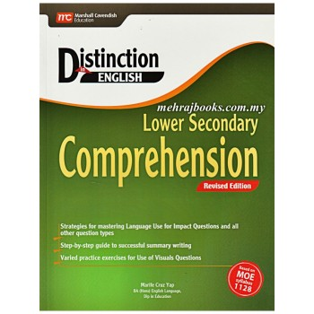 Marshall Cavendish | Distinction in English: Lower Secondary Comprehension Rev