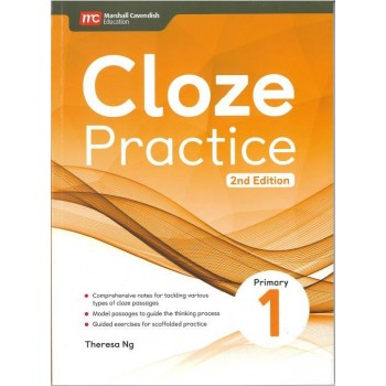 Marshall Cavendish | Cloze Practice Primary 1 (2nd Edition)
