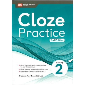 Marshall Cavendish | Cloze Practice Primary 2 (2nd Edition)