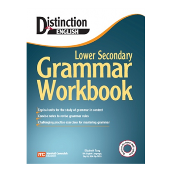 Marshall Cavendish | Distinction in English: Lower Secondary Grammar Workbook