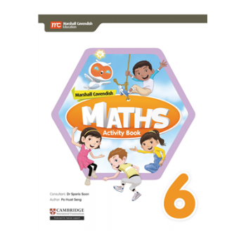 Marshall Cavendish Maths Activity Book Stage 6