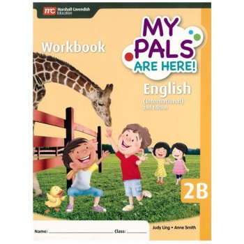 Marshall Cavendish | My Pals Are Here! English (International) 2nd Edition Workbook 2B