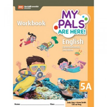 Marshall Cavendish | My Pals Are Here! English (International) 2nd Edition Workbook 5A
