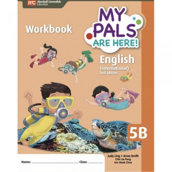Marshall Cavendish | My Pals Are Here! English (International) 2nd Edition Workbook 5B
