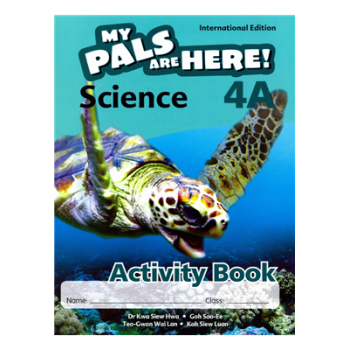 Marshall Cavendish | My Pals are Here! Science (International Edition) Activity Book 4A