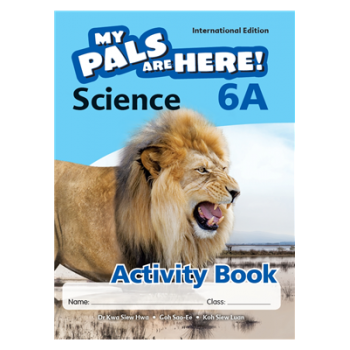 Marshall Cavendish | My Pals are Here! Science (International Edition) Activity Book 6A