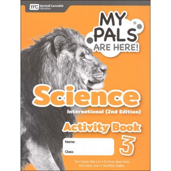 Marshall Cavendish | My Pals are Here! Science (International Edition) Activity Book 3 2ED