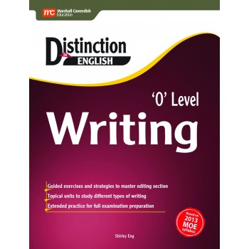 Marshall Cavendish | Distinction in English: 'O' Level Writing