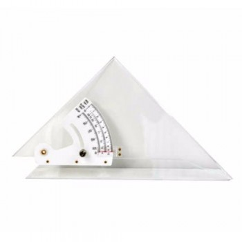 Adjustable Set Square 30cm Clear Acrylic
