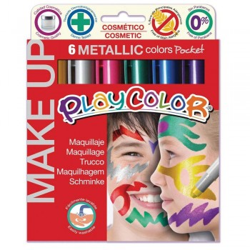 Playcolor Make Up Metallic Pocket