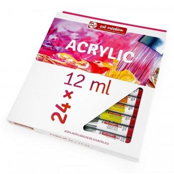 Talens Art Creation acrylic colour set 24 x 12 ml