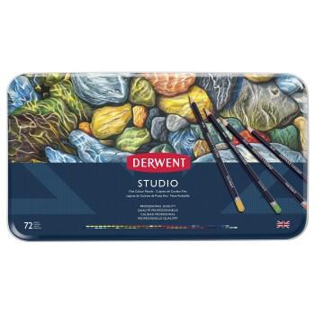 Derwent Studio Pencils 72 Tin