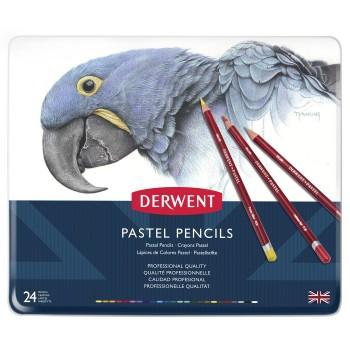 Derwent Pastel Pencils 24 Tin