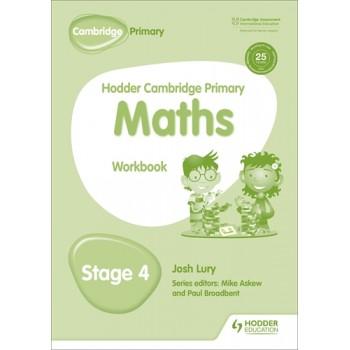 Hodder Cambridge Primary Maths Workbook | Stage 4